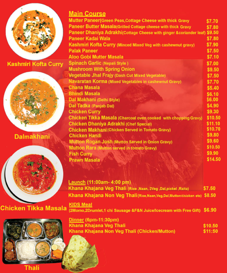 Mini Nepal Pte Ltd, Khana Khajana Restaurant, Authentic ...